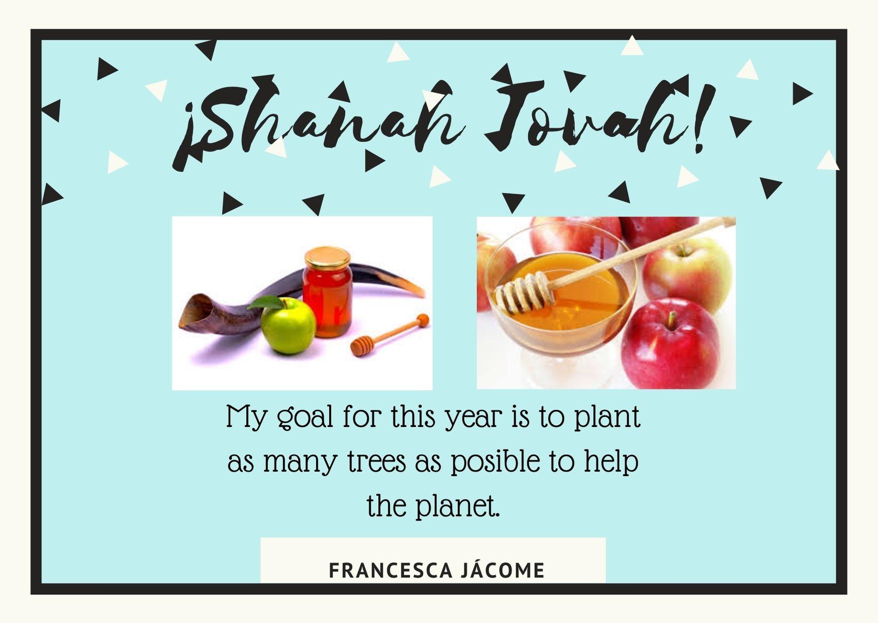 shanah tovah francesca jacome