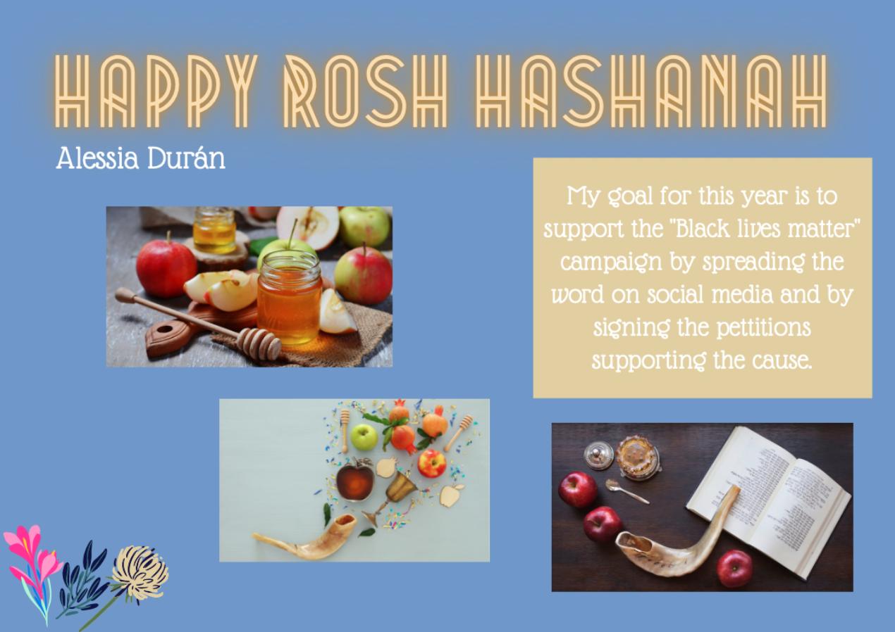 happy rosh hashanah alessia duran