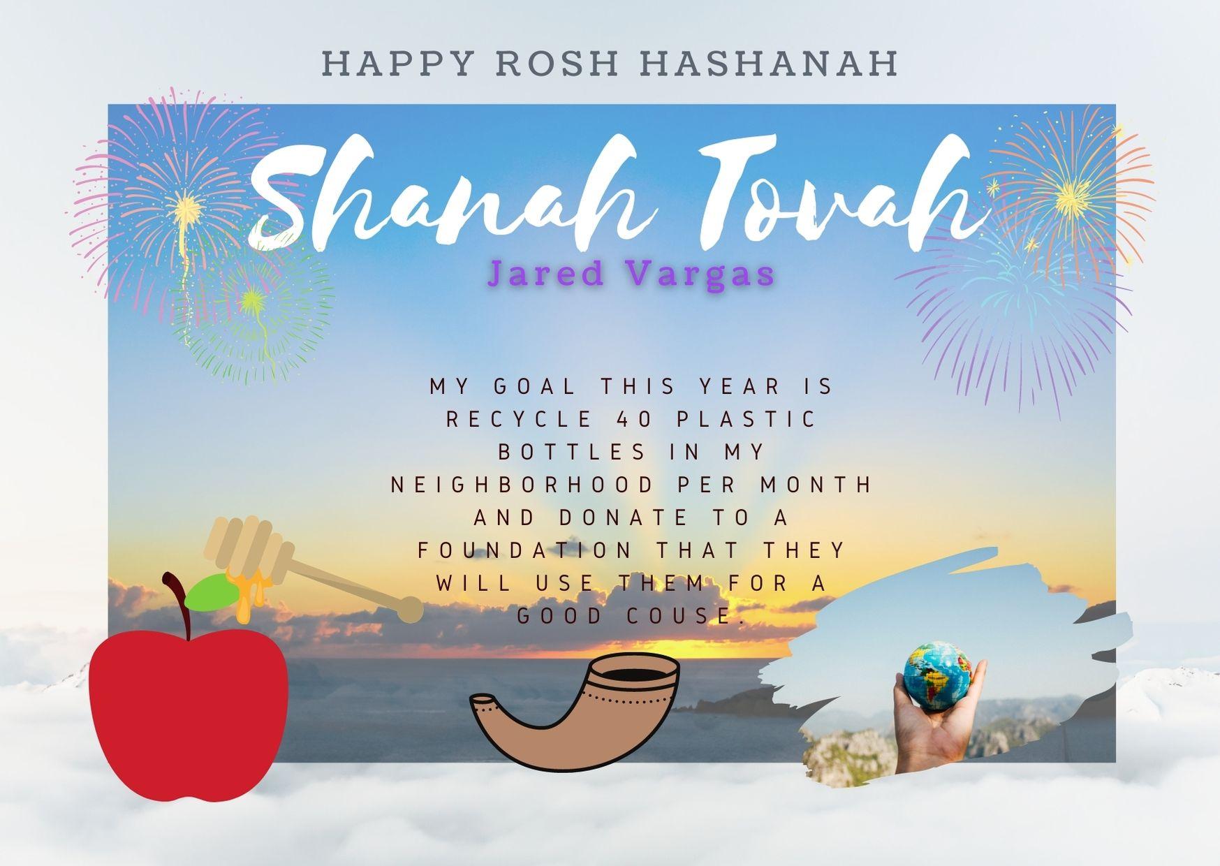 rosha hashanah jared